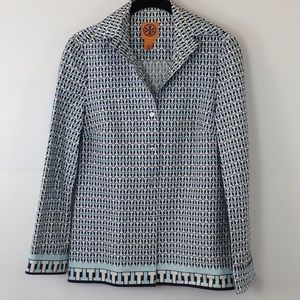Tory multicolor long sleeve shirt size 6
